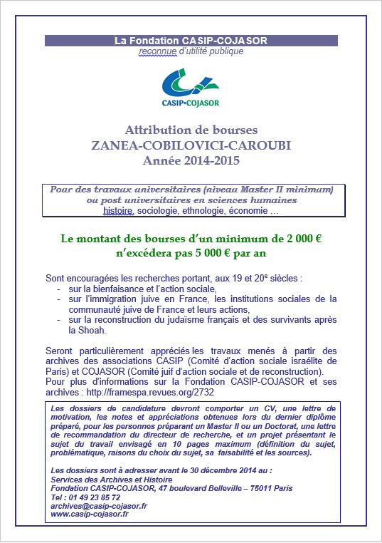 Bourse-Fondation-Casip-Cojasor-2014-2015